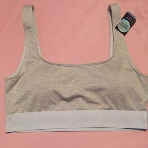 Victoria Secret PINK Sports Bra Small Gray